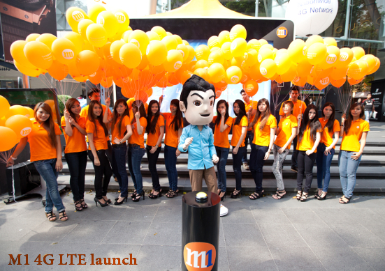 M1 LTE Launch