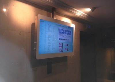 Wisma Atria Shopping Centre eDirectory at Lift Lobby