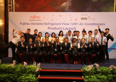 Winfinity's Launch of Fujitsu Airstage V-III Inverter Aircon