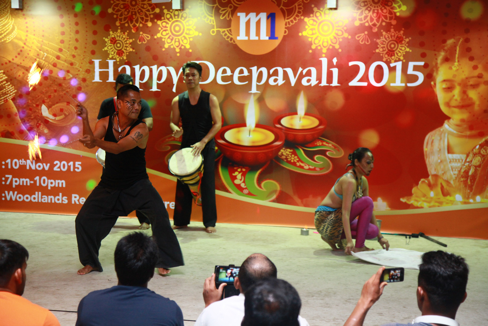 M1Deepavali 2015@Soon Lee and Woodlands