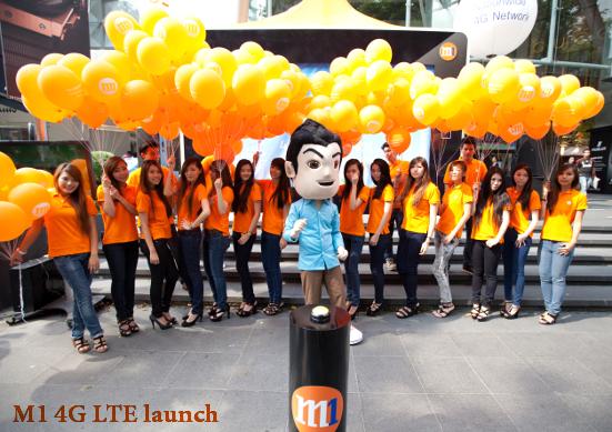 M1 LTE Launch