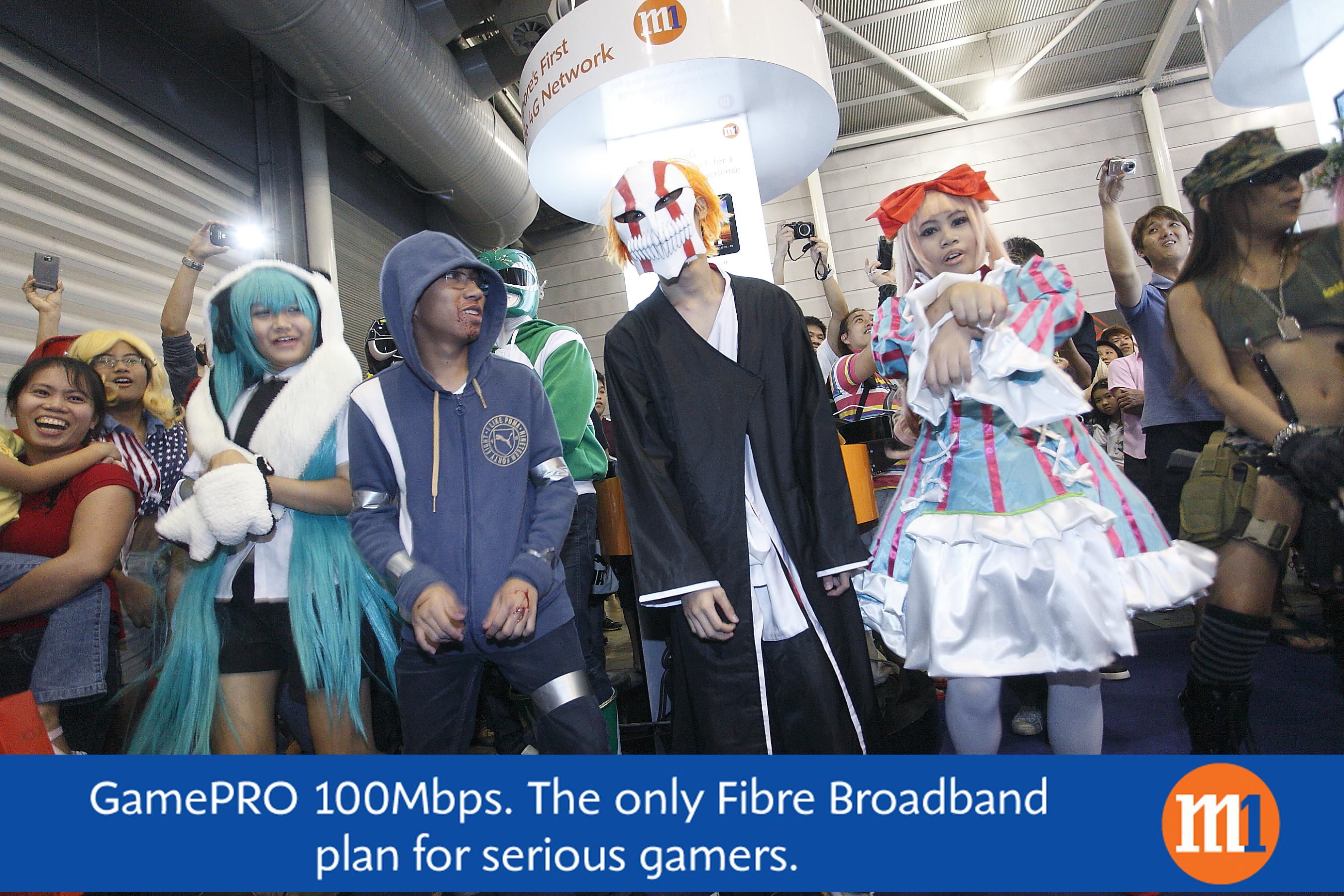 GamePRO 100Mbps @TGX