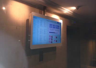 Wisma Atria Shopping Centre eDirectory at Lift Lobby
