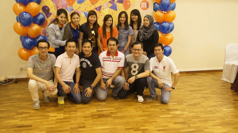M1 Team Building 2014