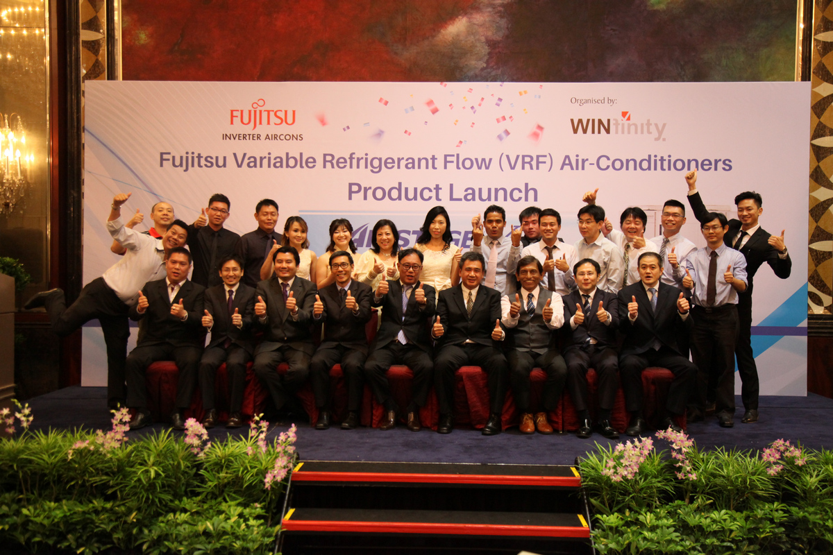 Winfinity's Launch of Fujitsu Airstage V-III Inverter Aircon