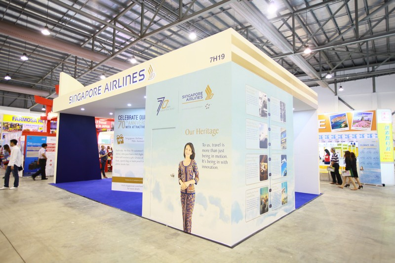Exhibition Booth Design Singapore : Natas travel fair essential werkz