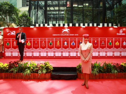 Singapore Turf Club Pole Position Draw for Emirates Singapore Derby 2018
