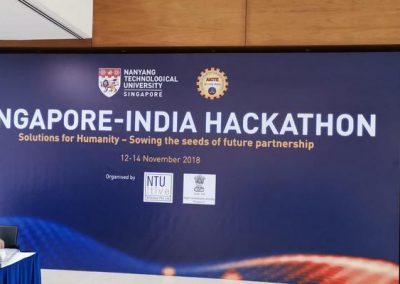 Singapore-India Hackathon 2018