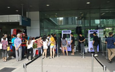TransitLink Travel Smart Journeys Roadshow at Punggol MRT