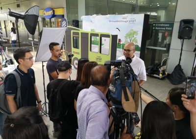 TransitLink Travel Smart Journeys Roadshow at Punggol MRT