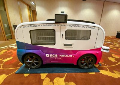 NCS Group Autonomous Vehicle